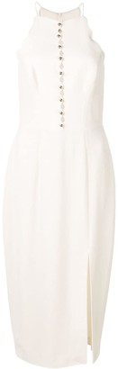 Zimmermann scallop edge midi dress