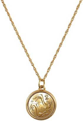 American Coin Treasures Two Goats Coin Pendant