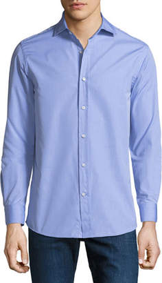 Ralph Lauren Men's Bond End-on-End Dress Shirt