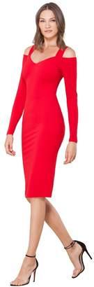 Hale Bob Victoire Crepe Dress