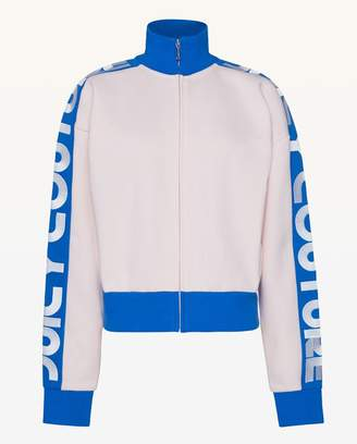 Juicy Couture Juicy Border Fleece Zip Up Jacket