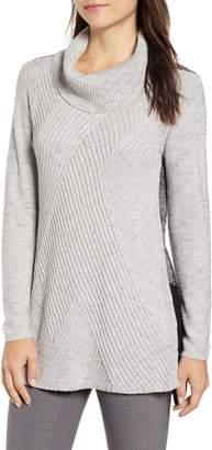Nic+Zoe North Star Colorblock Sweater