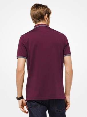 Michael Kors Greenwich Cotton Polo Shirt