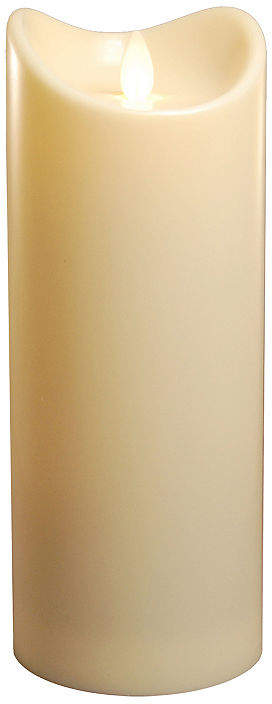 Battery Operated Pillar Candle with Moving Flame 9