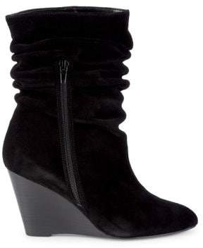 Charles by Charles David Empire Suede Wedge Booties