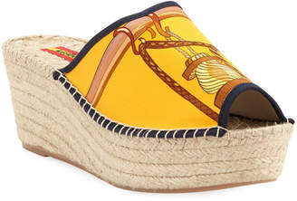 Respoke Charo Wedge Slide Espadrille Sandals