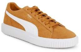 Puma Breaker Leather Lace-Up Sneakers