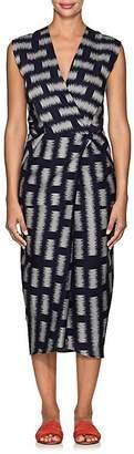 Zero Maria Cornejo Women's Kaia Cotton-Blend Wrap Dress