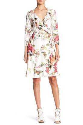 Hale Bob Floral Wrap Dress