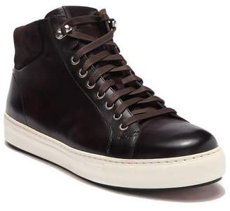 Magnanni Bristol Leather High-Top Sneaker