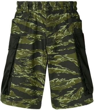 DSQUARED2 camouflage cargo shorts