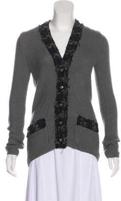 Tory Burch Wool Knit Cardigan