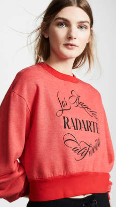 Rodarte Radarte Emblem Sweatshirt