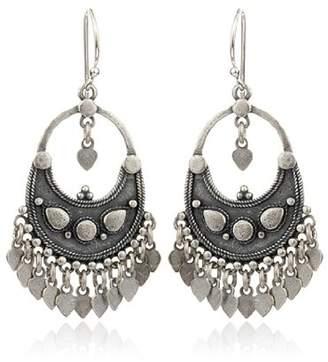 Satya Jewelry Flower Petal Chandelier Earrings
