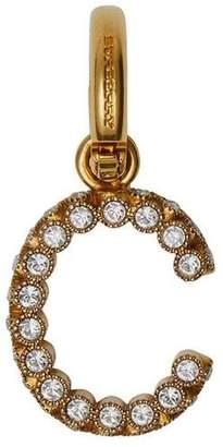 Burberry Crystal 'C' Alphabet Charm