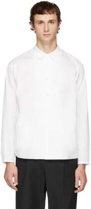 Undecorated Man White Undecorated Shirt