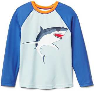 Cool shark baseball rashguard $19.95 thestylecure.com