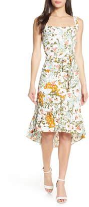 Chelsea28 Floral Belted Fit & Flare Sundress