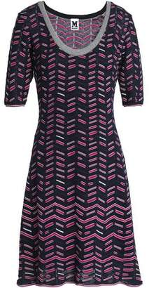 M Missoni Intarsia-Knit Mini Dress