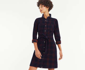 Oasis CHECK CORD WESTERN DRESS