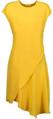 Emilio Pucci Asymmetric Crepe Mini Dress