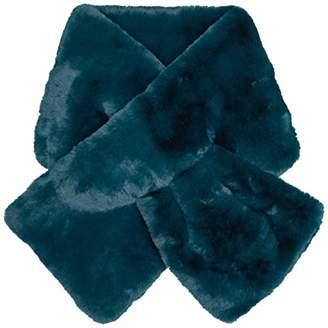Derhy Women's HADERNIERE Scarf, (Turquoise 30)