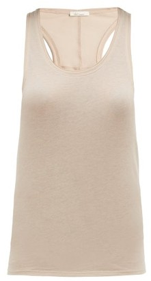 Skin - Cotton Jersey Tank Top - Womens - Nude