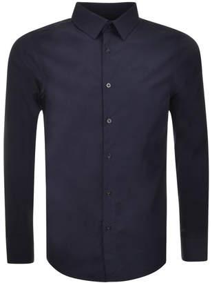 G Star Raw Slim Core Shirt Blue