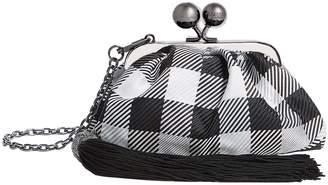 Max Mara Mini Check Tassel Bag