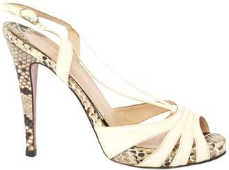 Christian Louboutin Patent Leather Sandals