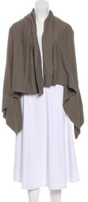 Rick Owens Asymmetrical Knit Cardigan