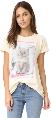 Wildfox Stressin' Crew Tee $68 thestylecure.com