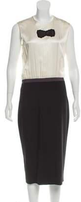 Behnaz Sarafpour Sleeveless Midi Dress