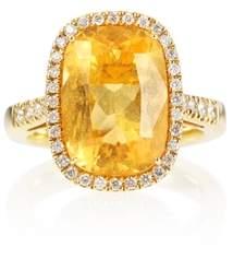Olivia Grace Limoni Yellow Gold And Diamond Ring