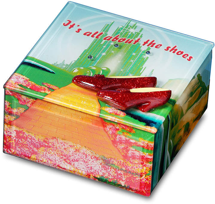 Wizard of Oz 'All About the Shoes' Musical Trinket Box