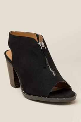 L4l L4L Zen Peep Toe Heel - Black