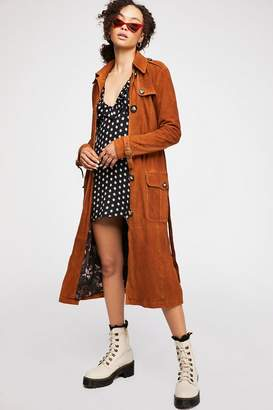 We The Free Larsen Suede Trench