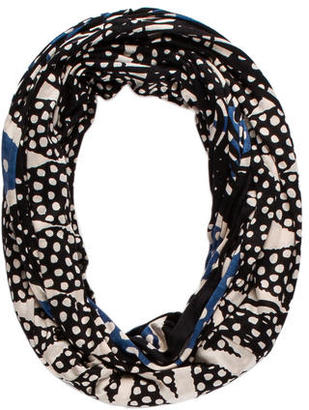 Diane von Furstenberg Silk Tube Scarf $65 thestylecure.com