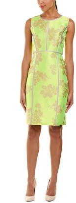 Lafayette 148 New York Mariana Linen & Silk-Blend Sheath Dress