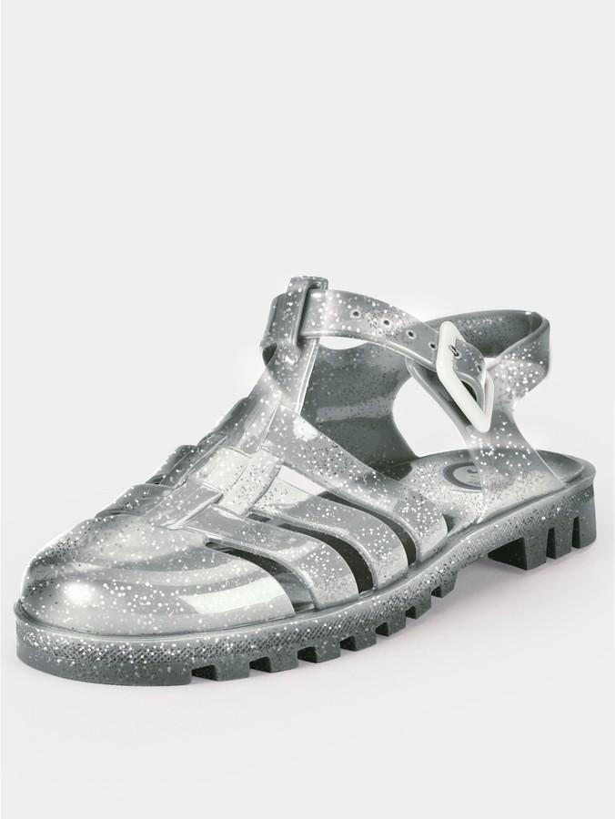 JuJu Ju Ju Maxi Jelly Sandals