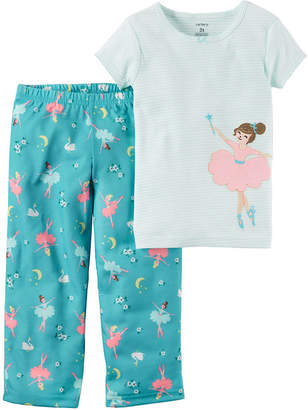 Carter's 2-pc. Pajama Set Toddler Girls