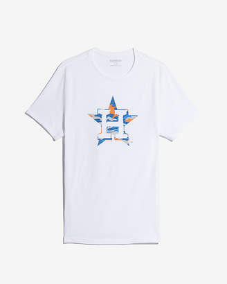 Express Houston Astros Camo Graphic Tee