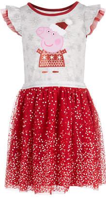 Peppa Pig Toddler Girls Santa Dress
