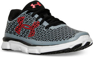 Under Armour Little Boys' ClutchFit RebelSpeed Running Sneakers from Finish Line $67.99 thestylecure.com
