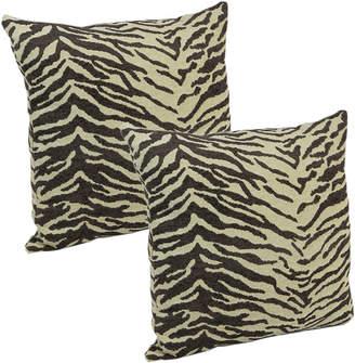 Klear-Vu Klear Vu 18 Animal Print Decorative Pillows, Set of 2