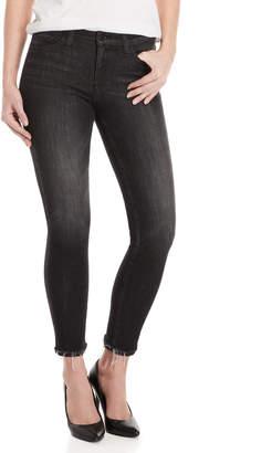 Flying Monkey Black Raw Hem Skinny Jeans