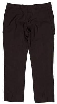 Givenchy Wool Flat-Front Pants