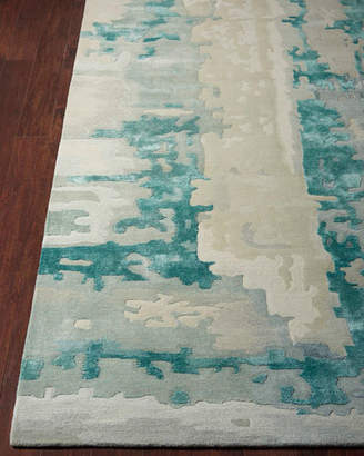 """Of A Kind Kathleen Marie New York Leigh Hand-Tufted One Rug, 7'9"""" x 9'9"""""""