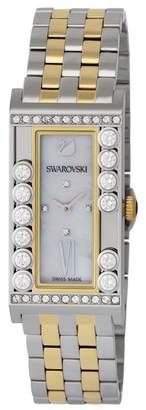 Swarovski Women's Lovely Crystals Two-Tone Swiss Quartz Watch, 21mm
