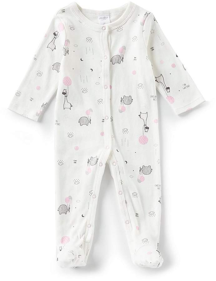 Starting Out Baby Girls Newborn-6 Months Balloon Print Long Sleeve Coveralls